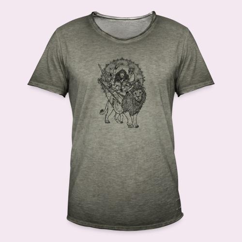 Durga - Männer Vintage T-Shirt
