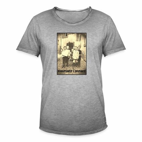 Manpower Company - Männer Vintage T-Shirt