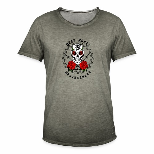 Dead Roses 2nd Logo - Men's Vintage T-Shirt