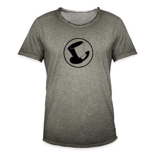 GLASS HAT - Camiseta vintage hombre