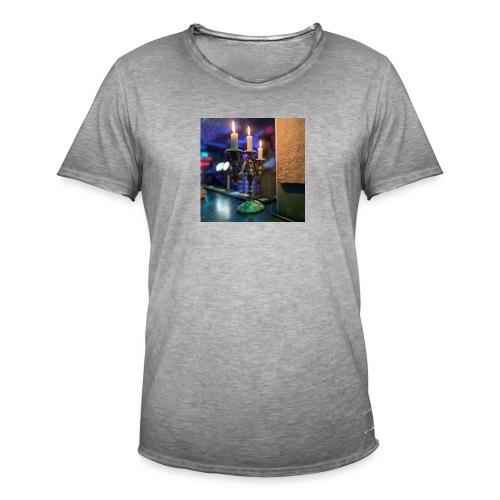 Ljusstalke - Vintage-T-shirt herr