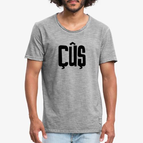 Çûs // wie cool ist das? - Männer Vintage T-Shirt