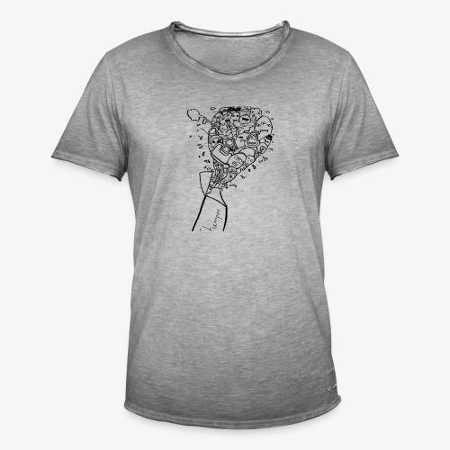 shampoo doodles - Men's Vintage T-Shirt