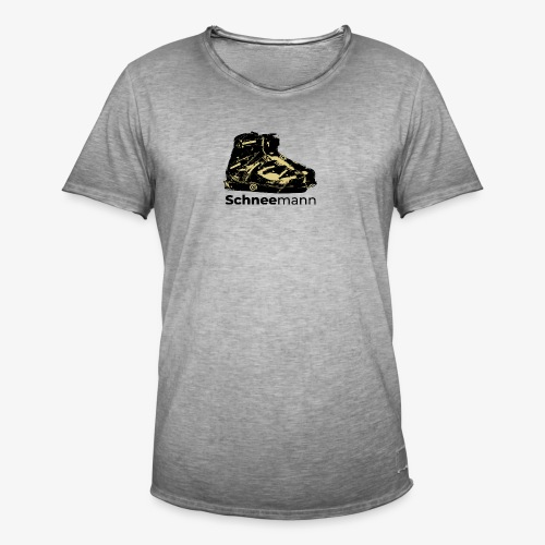 Schneemann - Männer Vintage T-Shirt