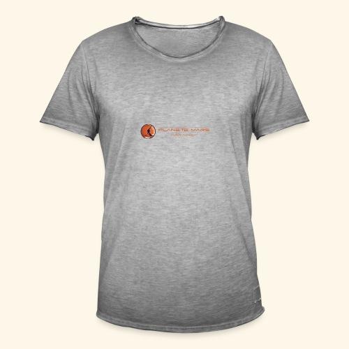 Planète Mars - T-shirt vintage Homme