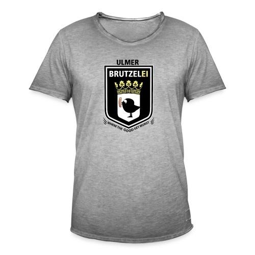 Ulmer Brutzelei - Männer Vintage T-Shirt
