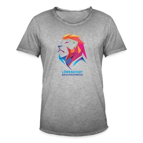 Löwenstadt Design 7 - Männer Vintage T-Shirt