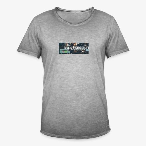 BeFunky Design - T-shirt vintage Homme