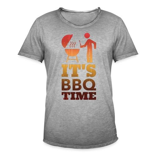 It's BBQ Time - Mannen Vintage T-shirt