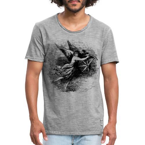 Angel at the helm - Men's Vintage T-Shirt