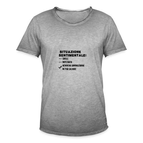 situazione 1 - Maglietta vintage da uomo