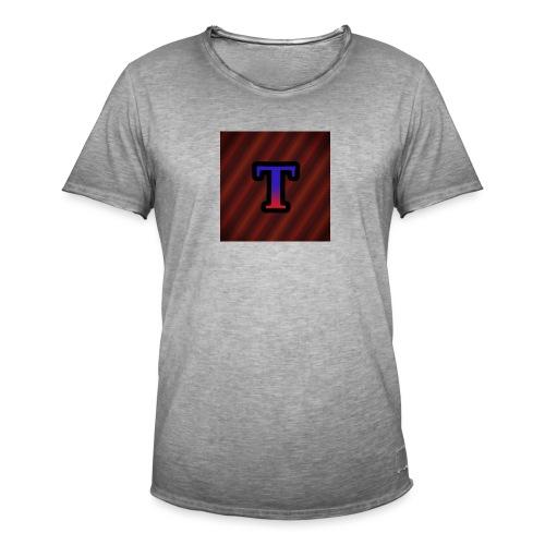 Logo - Mannen Vintage T-shirt