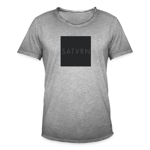 Satvrn - Maglietta vintage da uomo