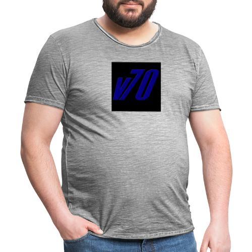 v70tryck - Vintage-T-shirt herr