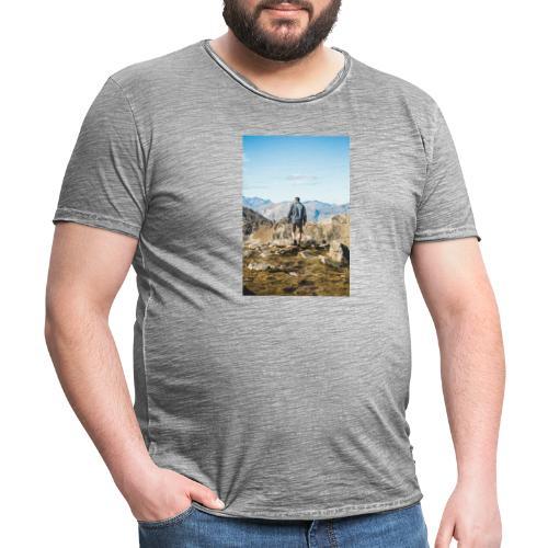Nature - T-shirt vintage Homme