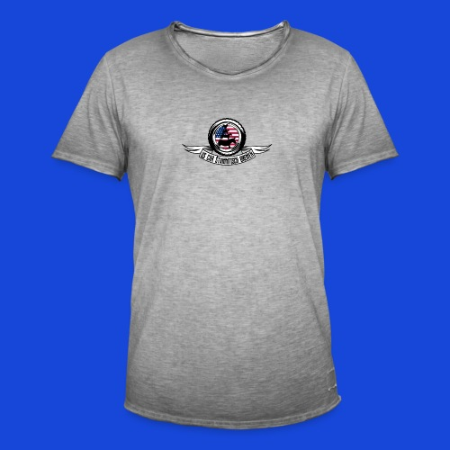 Logo Shirt - Männer Vintage T-Shirt