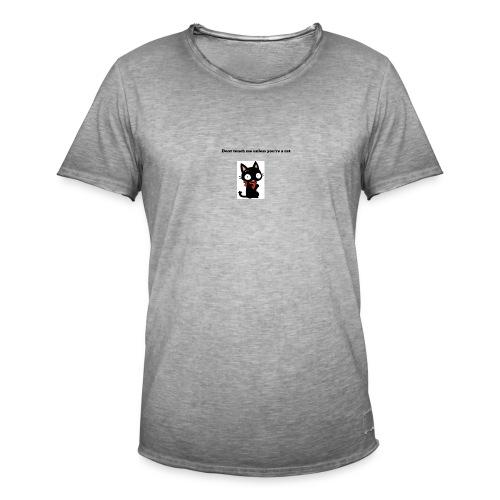 Imnotacat Tshirt - Vintage-T-shirt herr