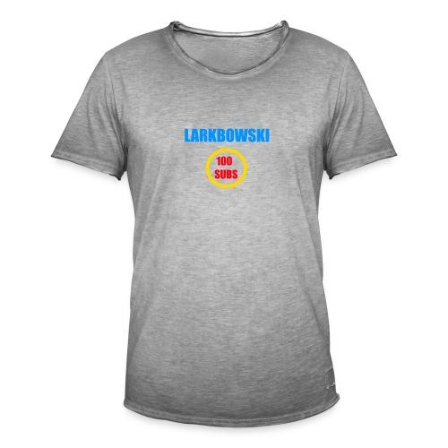 100 subs speicial - Men's Vintage T-Shirt