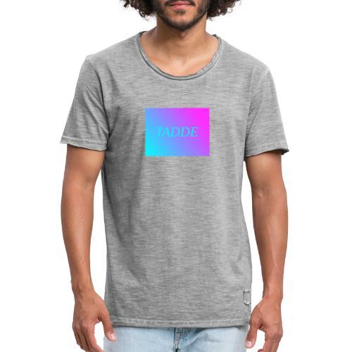 Tadde - Vintage-T-shirt herr