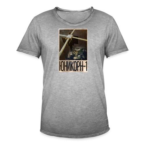 Unicorn 1 - Russian Poster - Men's Vintage T-Shirt