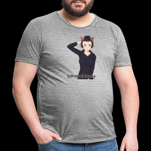 HoneyName - Männer Vintage T-Shirt