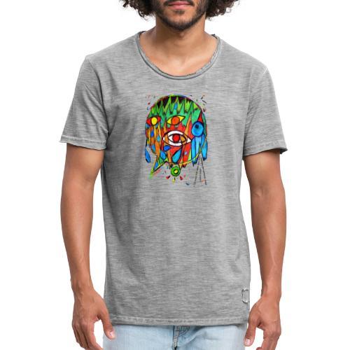 Vertrauen - Männer Vintage T-Shirt