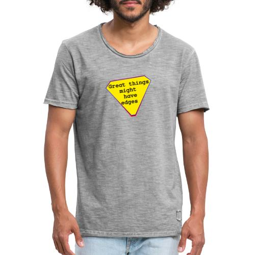 great things - Männer Vintage T-Shirt