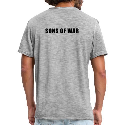 Tekst - Herre vintage T-shirt