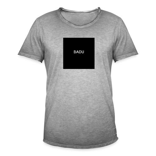 BADU - Maglietta vintage da uomo