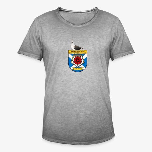 Montrose FC Supporters Club Seagull - Men's Vintage T-Shirt