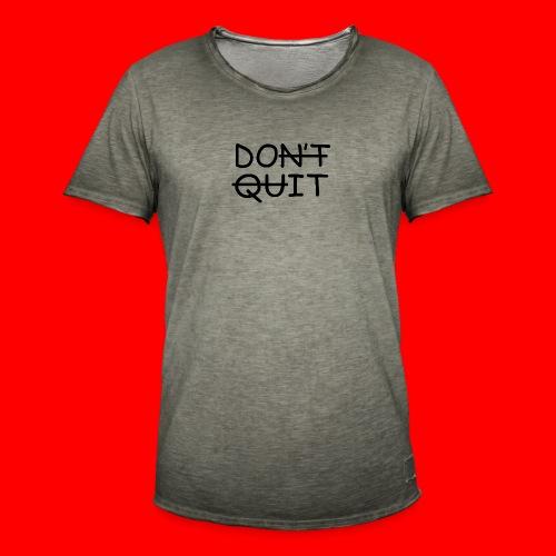 Don't Quit, Do It - Herre vintage T-shirt