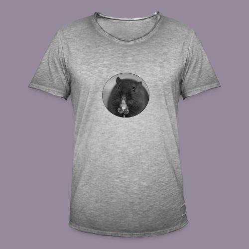 Rennmaus Ylvie - Männer Vintage T-Shirt