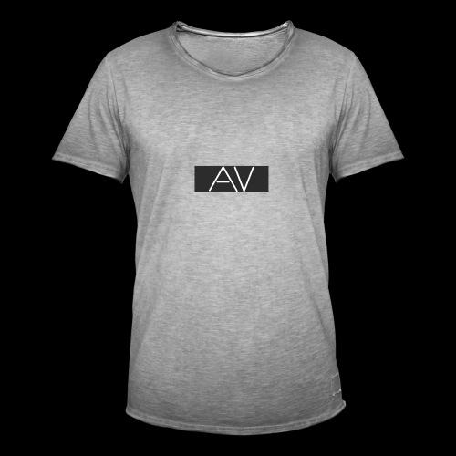 AV White - Men's Vintage T-Shirt
