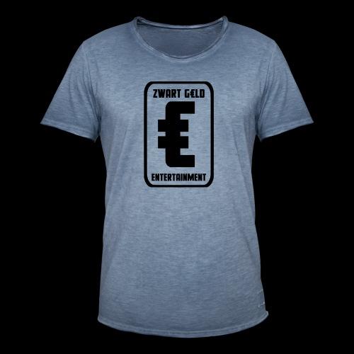 ZwartGeld Logo Sweater - Mannen Vintage T-shirt