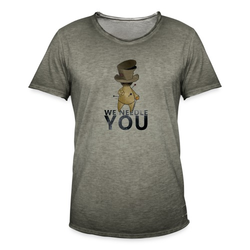 WE NEEDLE YOU - T-shirt vintage Homme