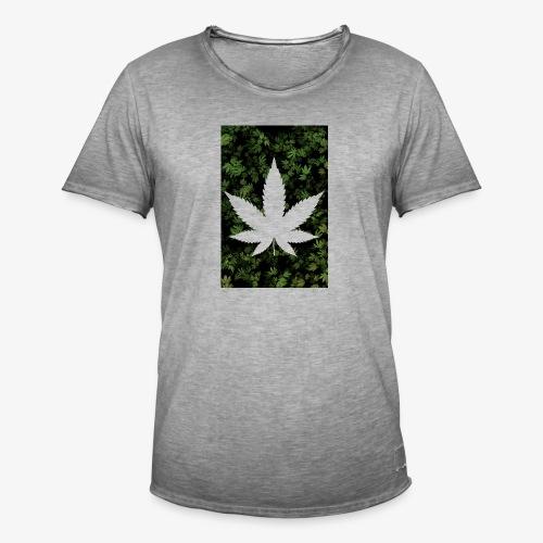 Weed_Design - Männer Vintage T-Shirt