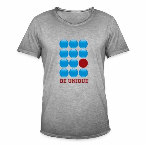 be unique - T-shirt vintage Homme