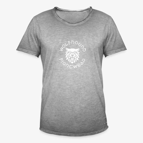 logo round w - Men's Vintage T-Shirt