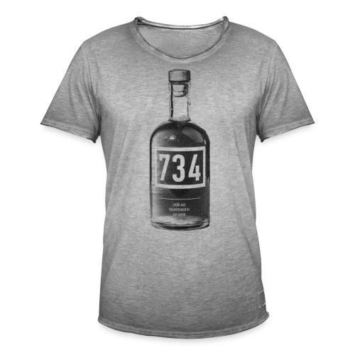 734 Flasche - Männer Vintage T-Shirt