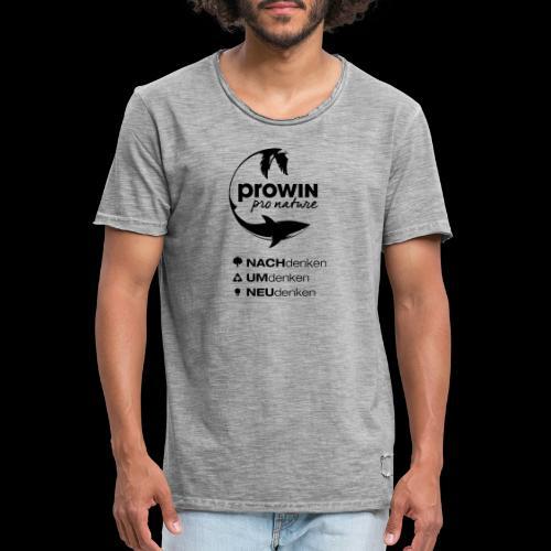 prowin PlanB3 - Männer Vintage T-Shirt
