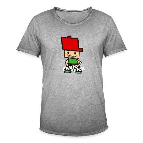 Fabio Spick - Männer Vintage T-Shirt
