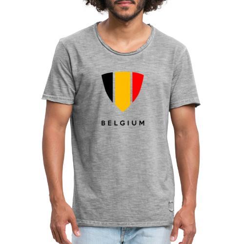 Bouclier de Belgique 2021 - T-shirt vintage Homme