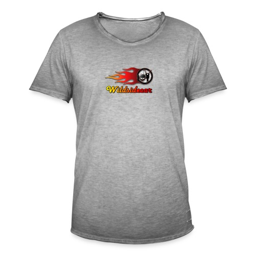 logo wildsidecar sans fond - T-shirt vintage Homme