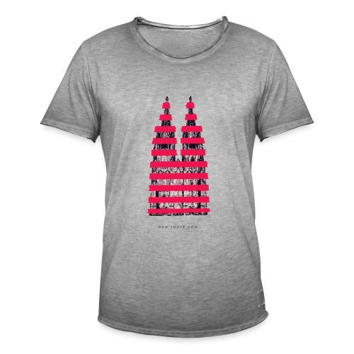 DOM SWEET DOM - Männer Vintage T-Shirt