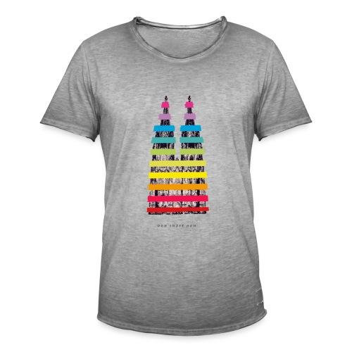 DOM SWEET DOOM (Pride Edition) - Männer Vintage T-Shirt