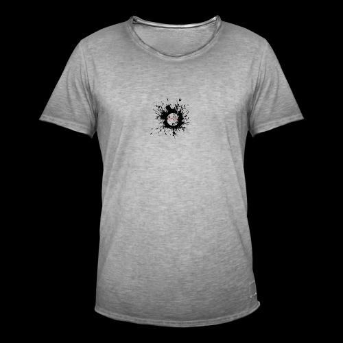 Sonnit LIMITED EDITION Black/Red - Men's Vintage T-Shirt