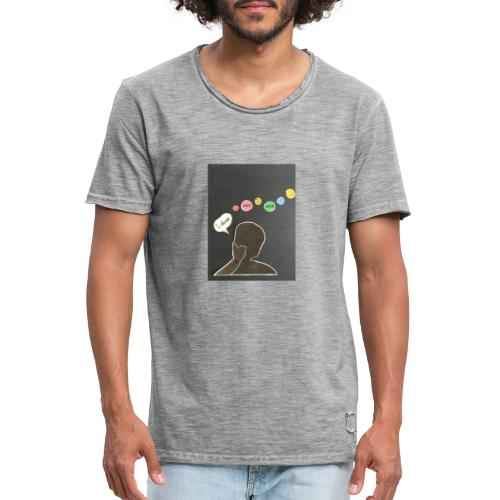 I denk wos i denk - Männer Vintage T-Shirt