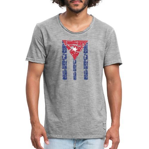 Salsa Cubana - Männer Vintage T-Shirt