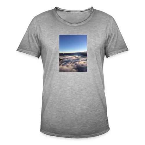 Alpenmeer - Männer Vintage T-Shirt