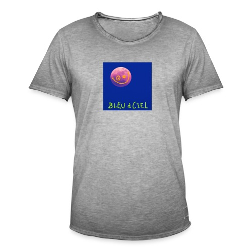 BLEU d CIEL- PINK mOOn collection - T-shirt vintage Homme